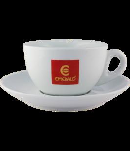 """""""Cappuccino"""" tasīte ar apakštasi EMERALD 6 gb."""