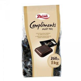 "Zaini ""Compliments Noir 70%"" tumšā šokolāde 1 kg/260 gb."